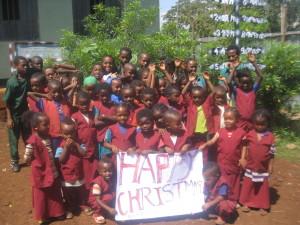 God jul fra barna i Arba Minch 1